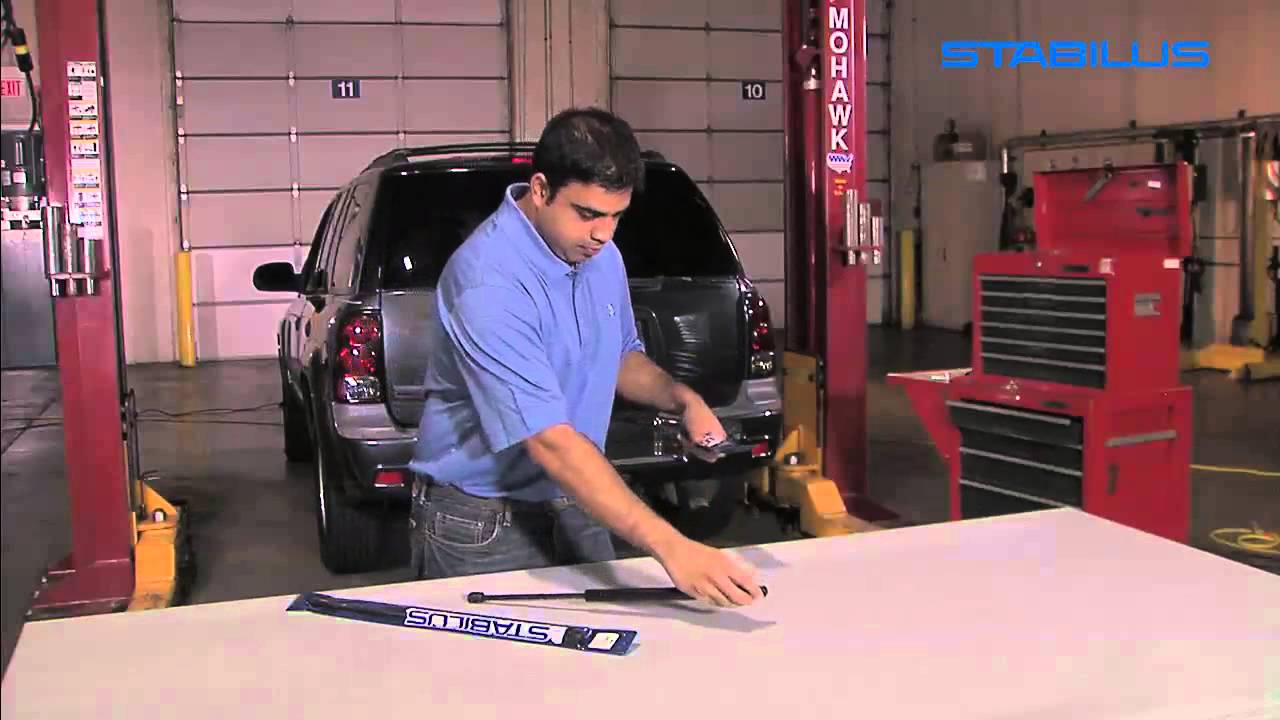 Hatch Lift Support-Trunk Lid Lift Support Left Sachs SG223008