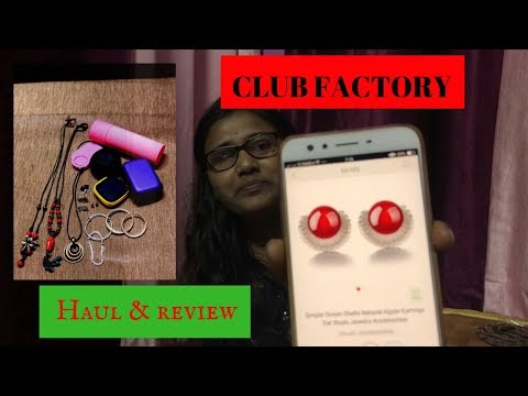 Club factory haul and review india   Online shopping accessory and jewellery haul