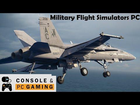 Flight Simulator - Military Flight Simulation