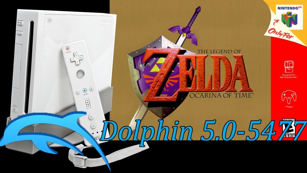 Legend of Zelda: Ocarina of Time N64 VC on Dolphin 5 0 5477