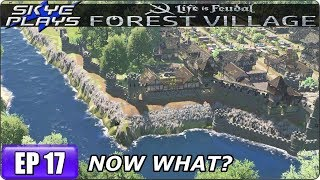 Life Is Feudal Forest Village - Building A Huge City & Castle Ep 17 - WHAT NOW?