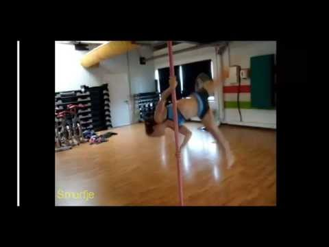 Selection of Flips Over the past 3 Years (Pole Dance Advanced Tricks)