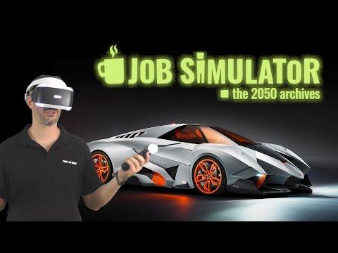 בואו נשחק - Job Simulator - יום בחייו של מכונאי