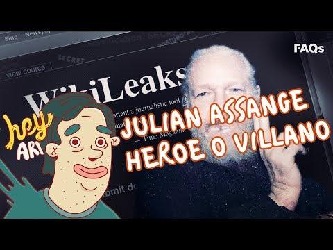 Juian Assange Heroe O Villano - Hey Arnoldo