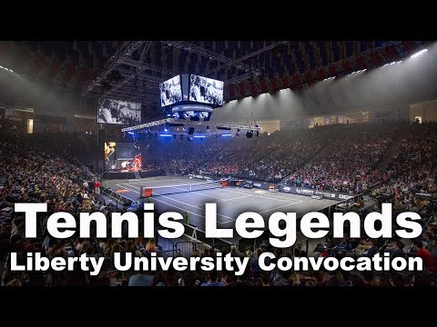 Tennis Legends - Liberty University Convocation