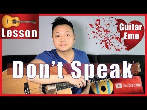 Don't Speak - No Doubt Guitar Tutorial