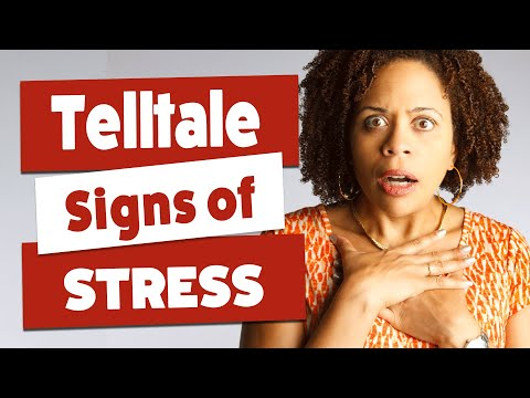 Signs Your Body Is Stressed - Telltale Signs