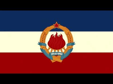 National Anthem of the SFR of Yugoslavia | Hej Sloveni!