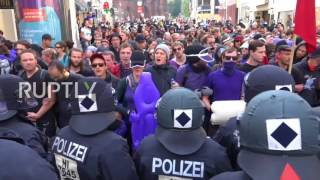 Germany: Hamburg police chase down G20 protesters