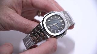 Gambar cover Patek Philippe Nautilus 5711/1A-010 Watch Review | aBlogtoWatch