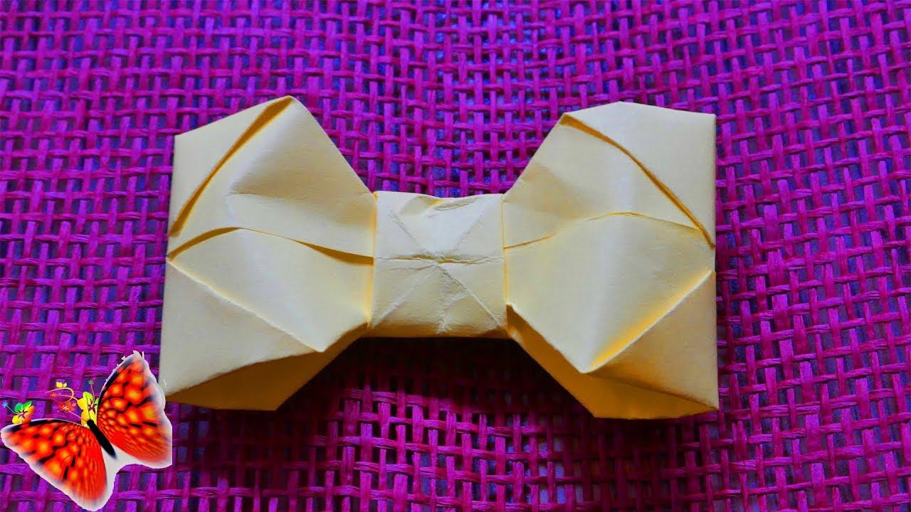 Бабочка галстук своими руками видео фото 370