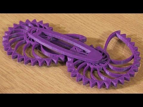 Archimedes Spiral Gear Mechanism