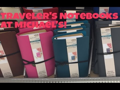 Michael 39 s craft store traveler 39 s notebook fauxdori first for Michaels craft store watches