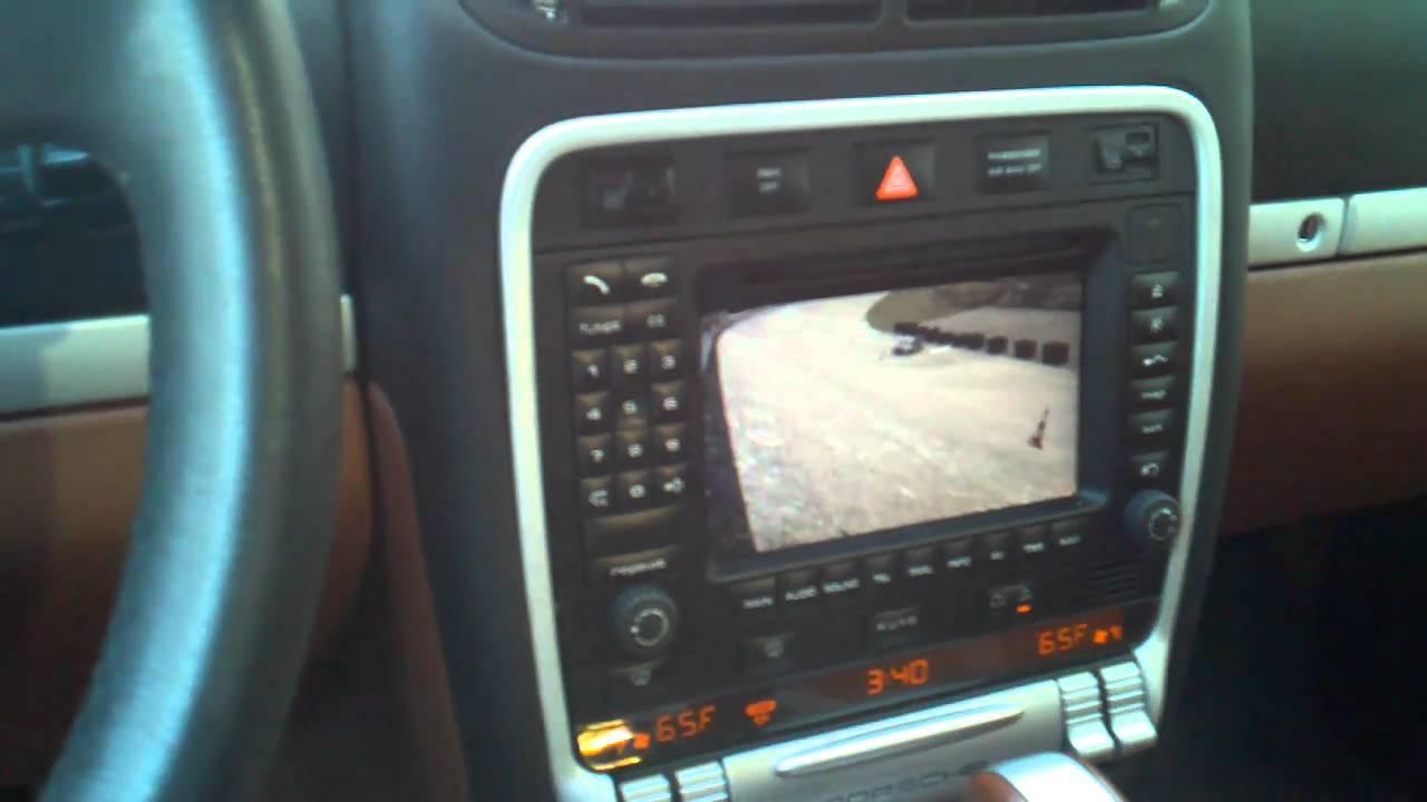 Cayenne Original pcm unit Unlocked monitor full control backup camera