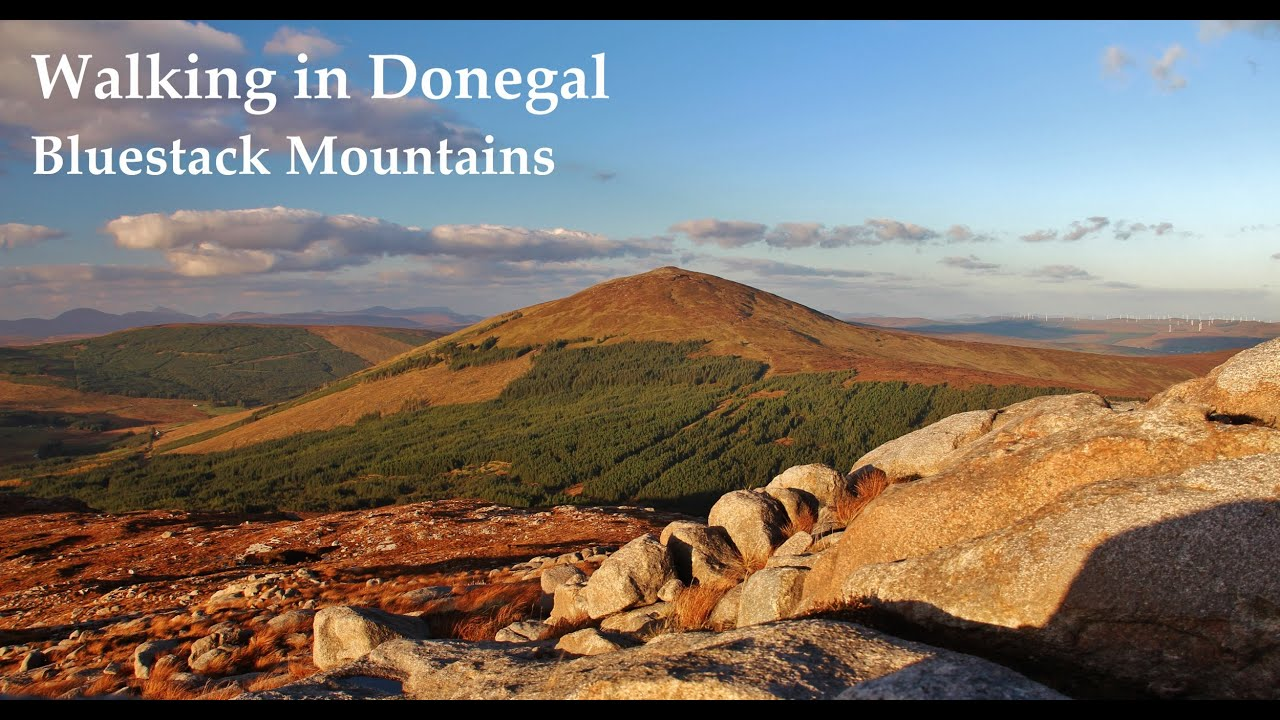 Wild Camping in Ireland - Bluestack Mountains (Donegal) - YouTube Donegal
