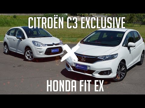 Compartivo: Citroën C3 Exclusive x Honda Fit EX