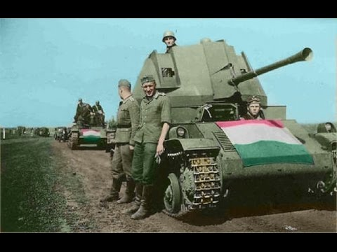 Hungarian Armored Fighting Vehicles : 1918 to 1945 - World War II