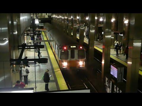 ボストン地下鉄オレンジライン ボストン北駅 MBTA Orange Line North Station
