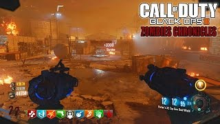 MOST UNLUCKY MOON EASTER EGG OF ALL TIME! - BLACK OPS 3 ZOMBIE CHRONICLES DLC 5 GAMEPLAY!