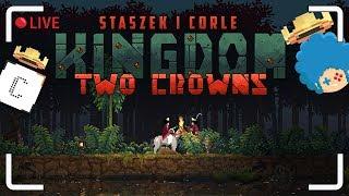 Kingdom: Two Crowns LIVE z Corle!   Średniowieczny setting   Zapis LIVE