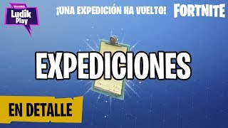 HOW DO EXPEDITIONS WORK? FORTNITE SAVE THE WORLD Spanish guide
