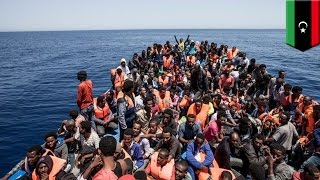Migrant crisis: Hundreds are feared dead after several boats sink off Libyan coast - TomoNews