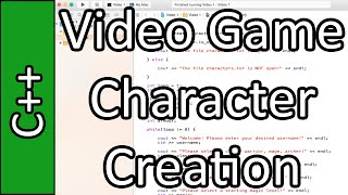 Video Game Character Creation - C++ Programming Tutorial #53 (PC / Mac 2015)