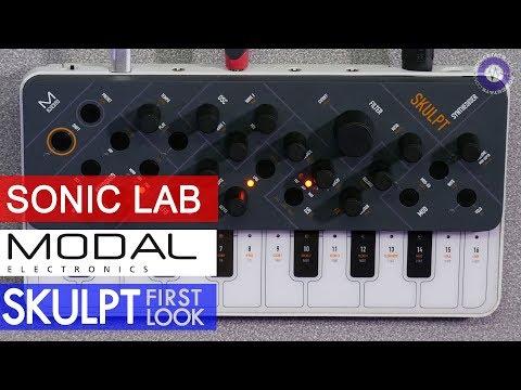 First Look: Modal Electronics SKULPT 4 voice polysynth