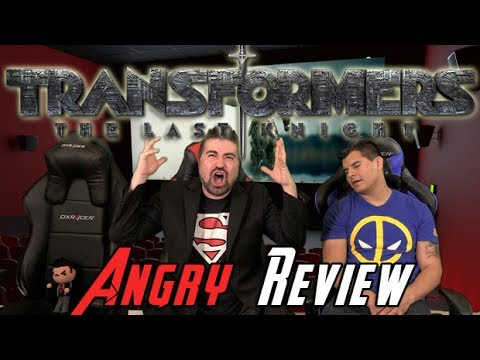 Transformers The Last Knight Angry Movie Review  Youtube