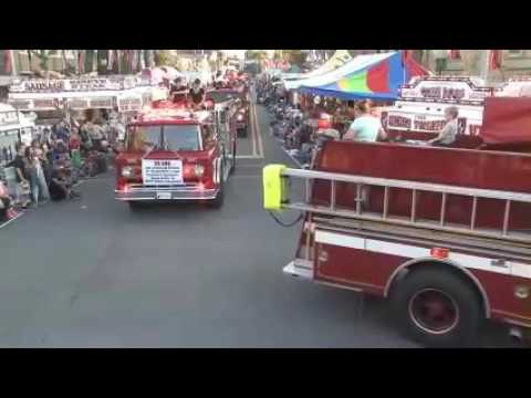 2016 Bluffton Street Fair Openind Day Parade