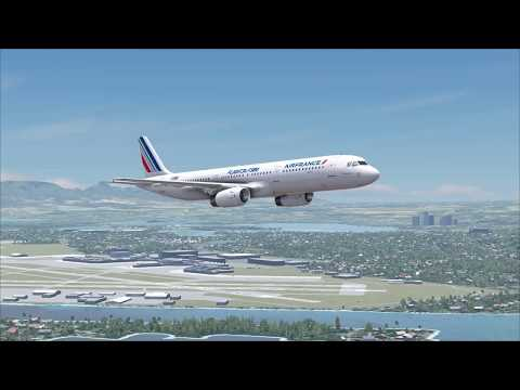 FSW (DTG Flight Sim World) - A321 -  Honolulu to Kahului
