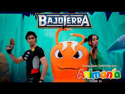 Show Infantil Bajoterra - Animania Show