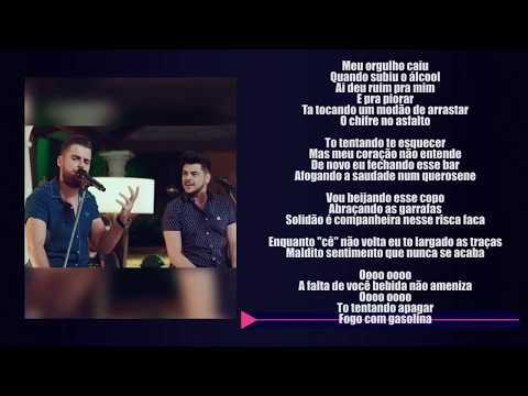 Zé Neto e Cristiano - LARGADO ÀS TRAÇAS (LETRA) + (SEGMENTO DE FRASE)