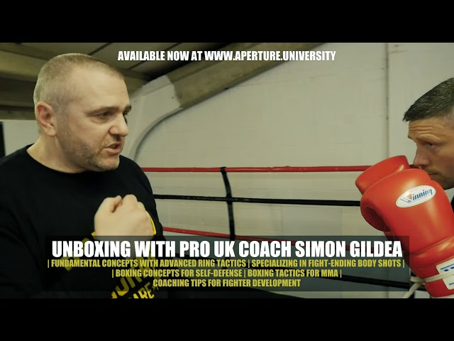 UK-STYLE BOXING LESSONS | Available on Aperture University