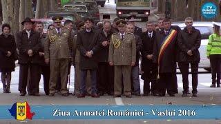 Ziua Armatei României  - Vaslui 2016