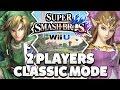 Super Smash Bros. Wii U - Link & Princess Zelda Classic Mode [1080p HD]