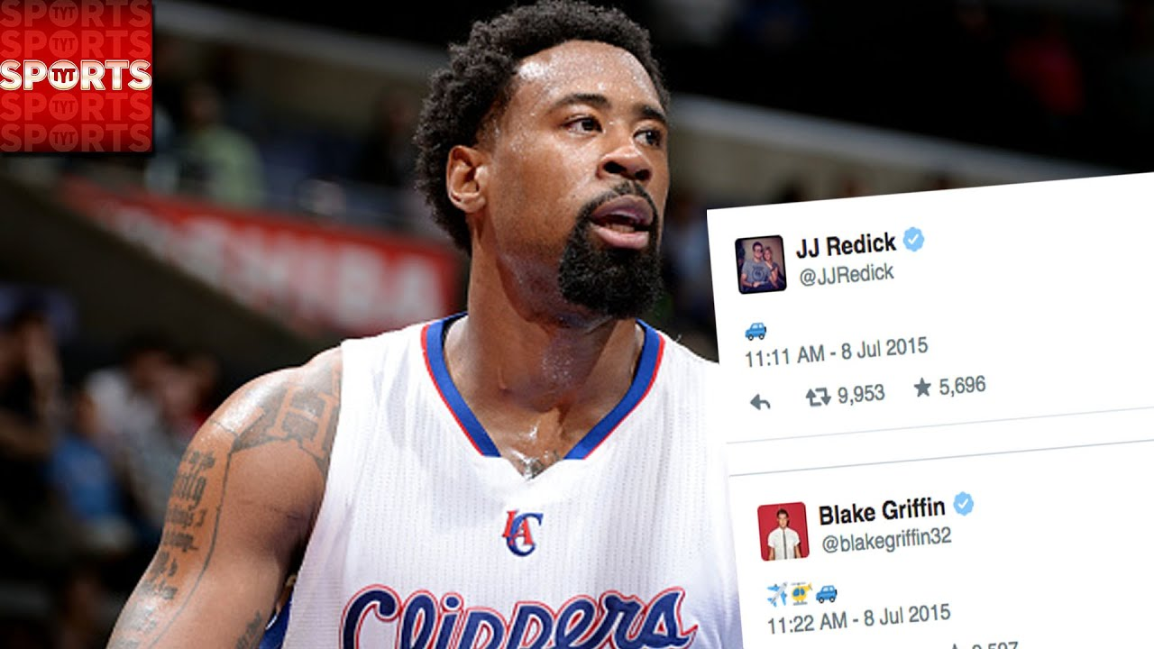 twitter erupts in emoji war as deandre jordan reconsiders
