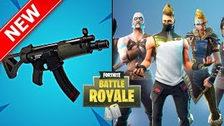 NEW SUBMACHINE GUN SOON! SESAON 5 GRIND! 5 BATTLE PASS GIVEAWAY!! (Fortnite Battle Royale)