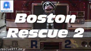 [Ride along] Rescue 2 Boston Fire Department