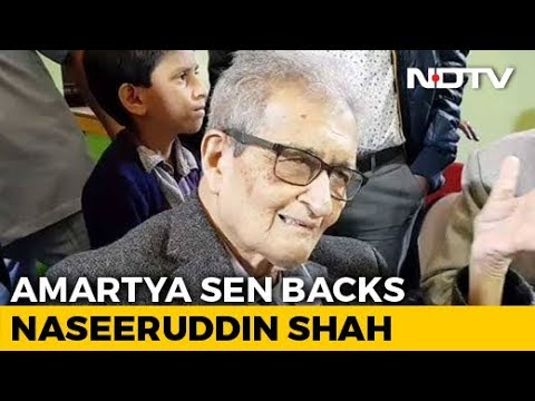 """""""Every Person Has A Right To An Opinion"""": Amartya Sen On Naseeruddin Shah's Remarks"""