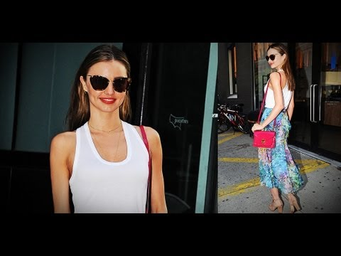 Miranda Kerr and Alessandra Ambrosio Model Off-Duty Style | Fashion Flash