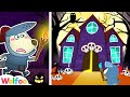 Wolfoo and Mysterious Adventures on Halloween at a Haunted House [30 Min Compilation] Wolfoo Channel