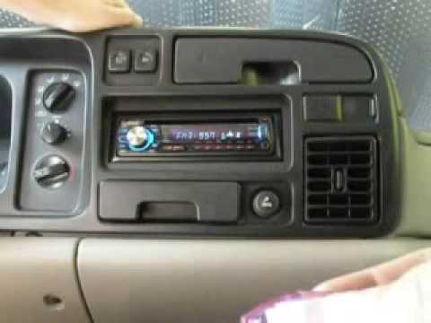hqdefault 1996 dodge ram 1500 update (radio) youtube 1998 dodge ram stereo wiring diagram at gsmx.co