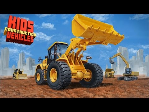 Kids Construction Vehicles HD app - Mighty Machines Construction Mighty Wheels