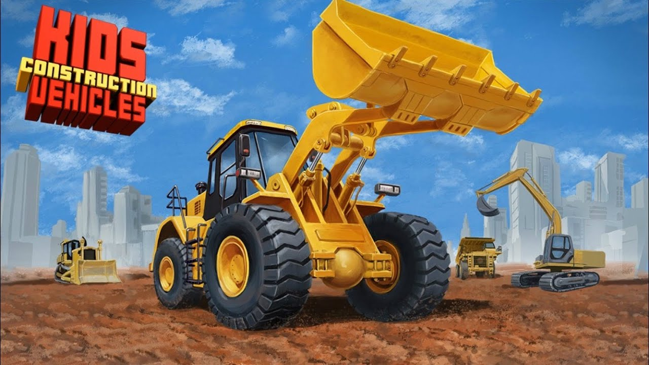 kids construction vehicles hd app mighty machines construction