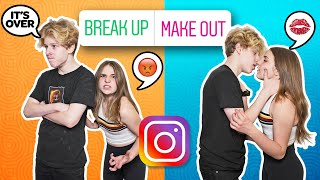 INSTAGRAM Followers Control My Quarantine DATE With My CRUSH **Kissing Challenge**💋|Lev Cameron