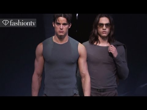 Emporio Armani Men Spring/Summer 2013 FULL SHOW | Milan Men's Fashion Week | FashionTV FMEN