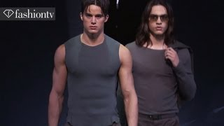 Emporio Armani Men Spring/Summer 2013 FULL SHOW | Milan Men's Fashion Week | FTV.com