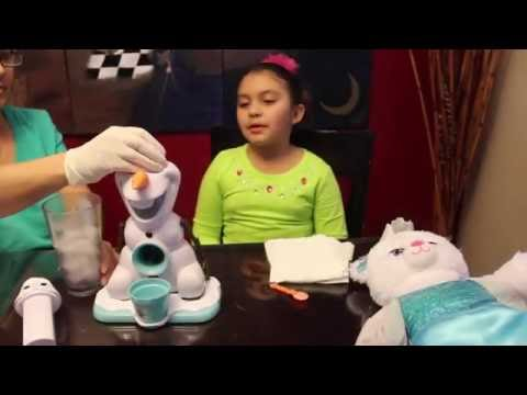 olaf snow cone maker instructions