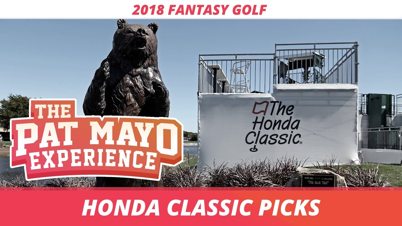Honda Classic picks (Daily Fantasy Golf)